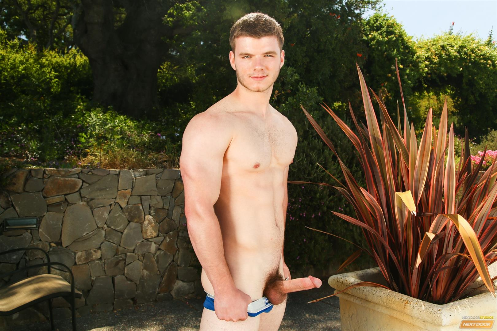 Next-Door-Male-Ivan-James-Muscular-Twink-Masturbation-Thick-Cock-Amateur-Gay-Porn-09 West Virginia Country Boy Strokes His Big Thick Cock