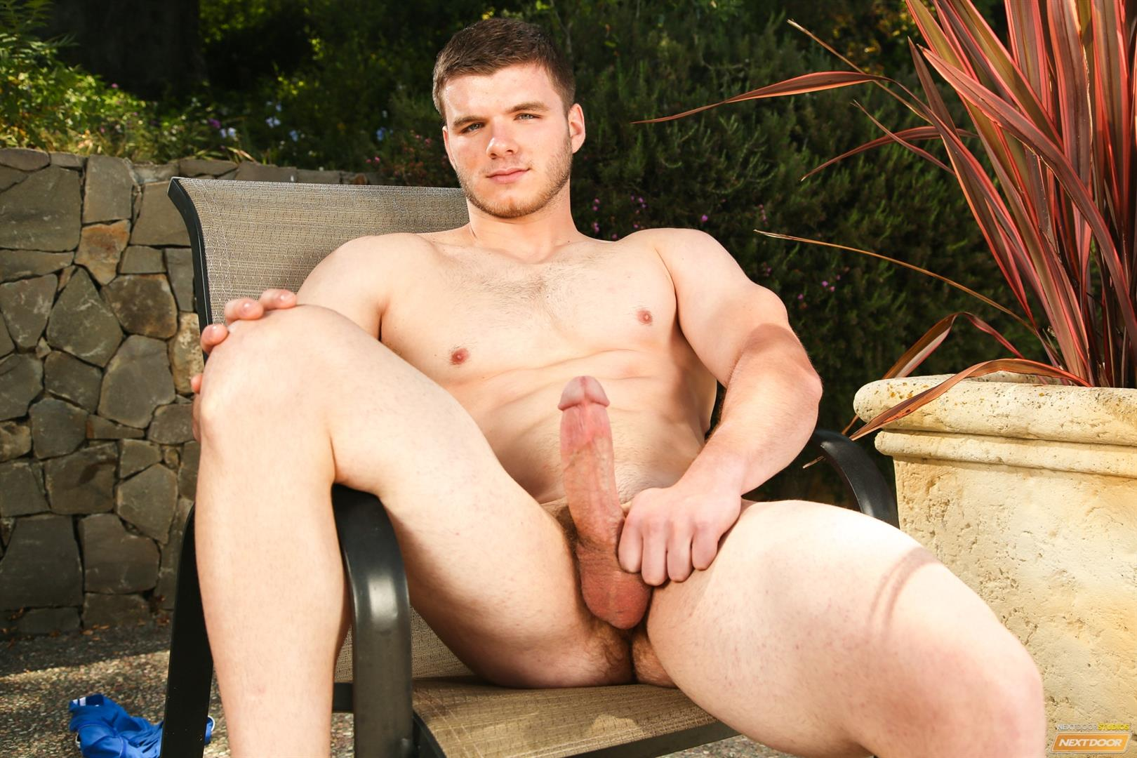 Next-Door-Male-Ivan-James-Muscular-Twink-Masturbation-Thick-Cock-Amateur-Gay-Porn-12 West Virginia Country Boy Strokes His Big Thick Cock