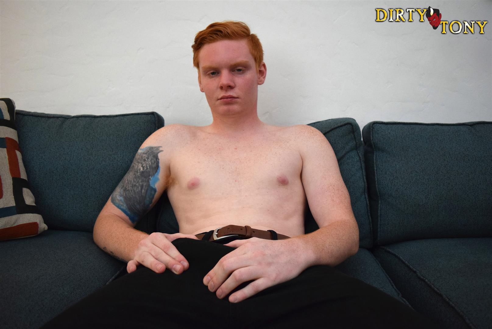 Dirty-Tony-Max-Breeker-Redheaded-Twink-Masturbation-Amateur-Gay-Porn-02 Bisexual 19 Year Old Redheaded Twink Auditions For Gay Porn