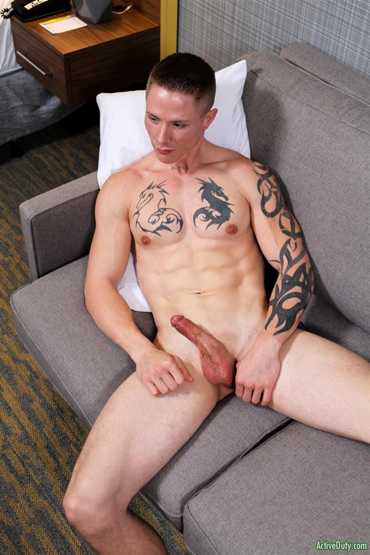 ActiveDuty-Guy-Houston-Naked-Army-Guy-Jerking-Off-Amateur-Gay-Porn-11 Straight Army Soldier Auditions For Gay Porn And Blows A Load
