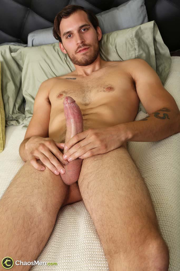 Chaosmen Leon Bisexual Guy With A Big Uncut Dick Low Hanging Balls Amateur Gay Porn 26 Bisexual Guy Jerks His Huge Uncut Cock With Low Hanging Balls