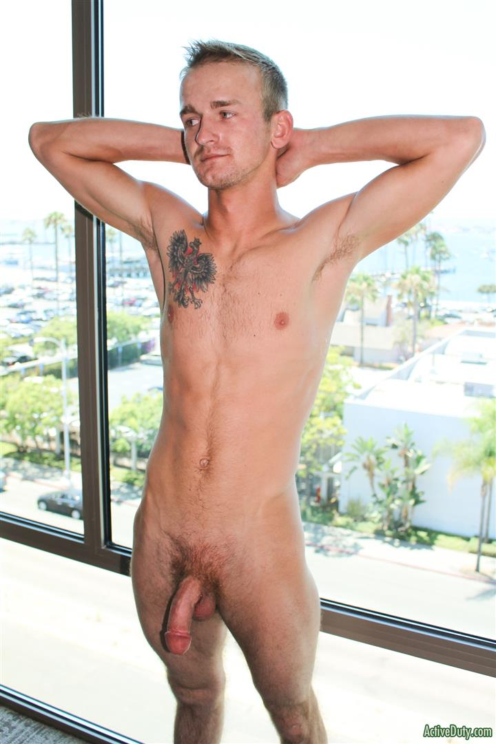 Active Duty Kevin Reed Naked Navy Guy Jerking Big Cock 13 Navy Recruit Kevin Reed Jerks His Big Cock