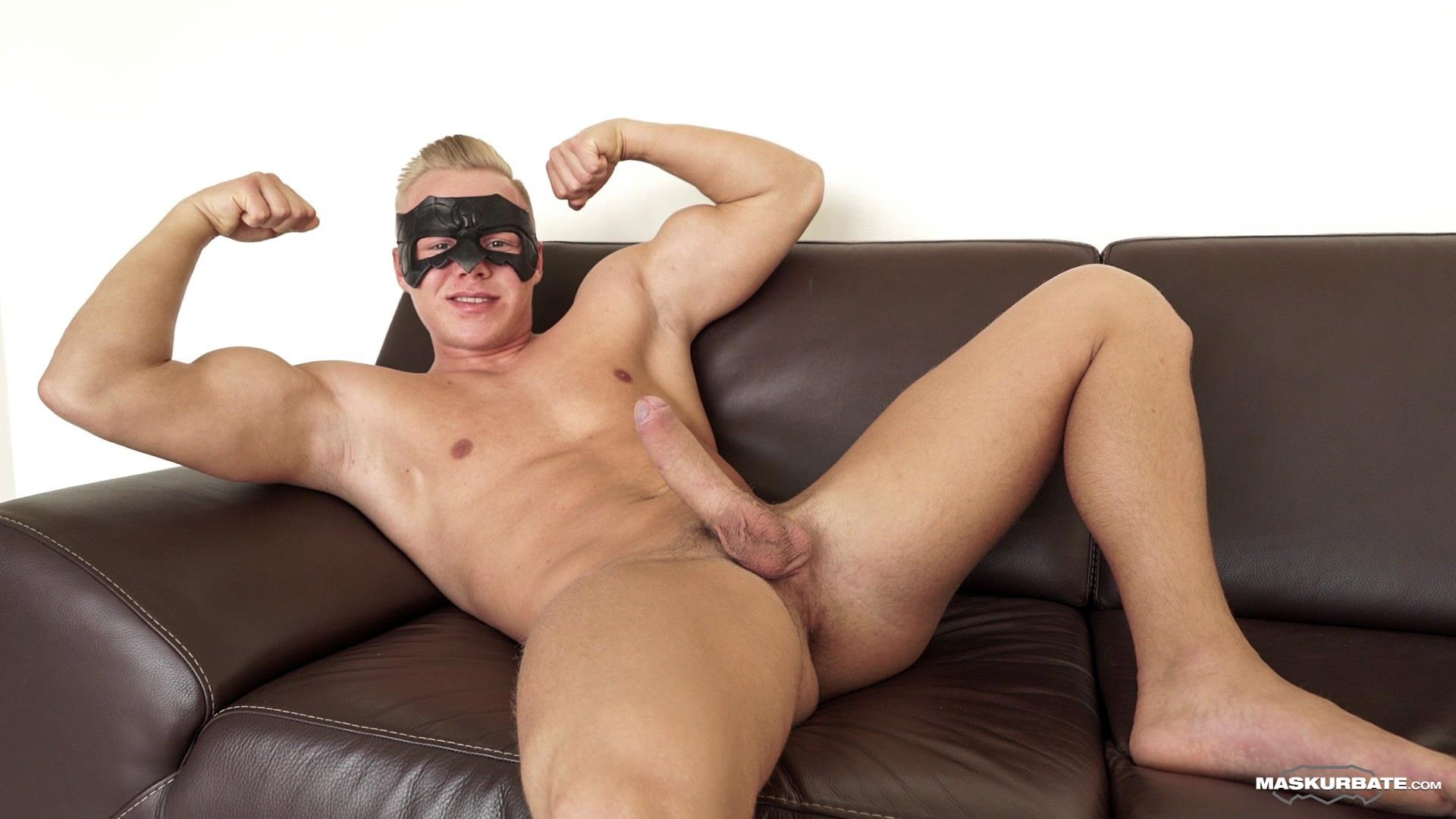 Maskurbate-Mickey-Big-Uncut-Cock-Muscle-Hunk-Jerking-Off-Video-05 Big Uncut Cock Blond Muscle Hunk Auditions For Gay Porn